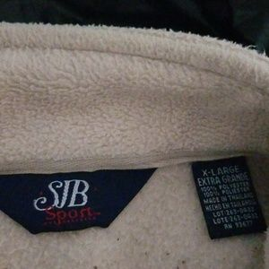 Saint John's Bay Active Jackets & Coats - SJB sport women's light tan fleece jacket